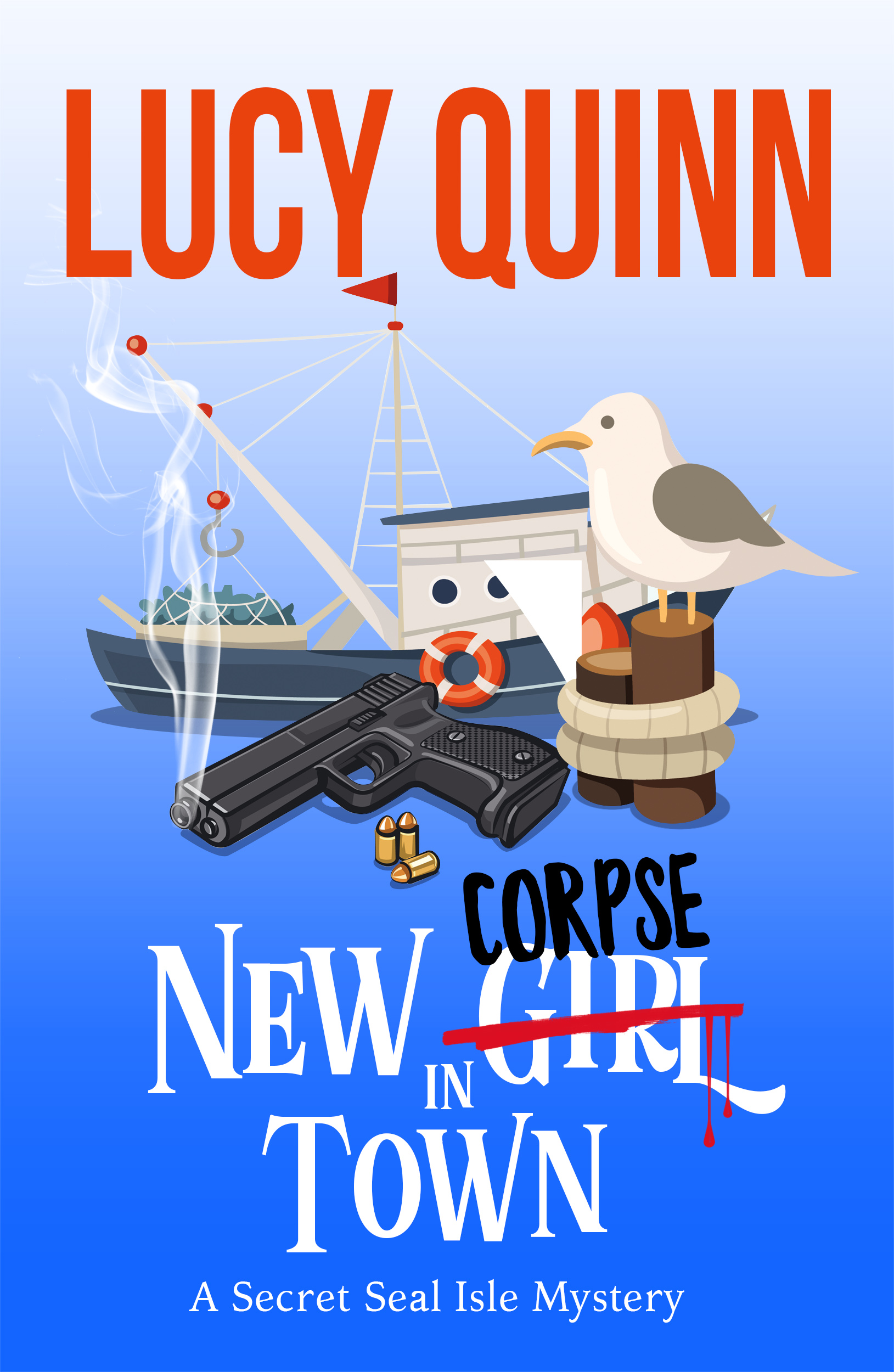 New Corpse in Town (Secret Seal Isle Mysteries, Book One)