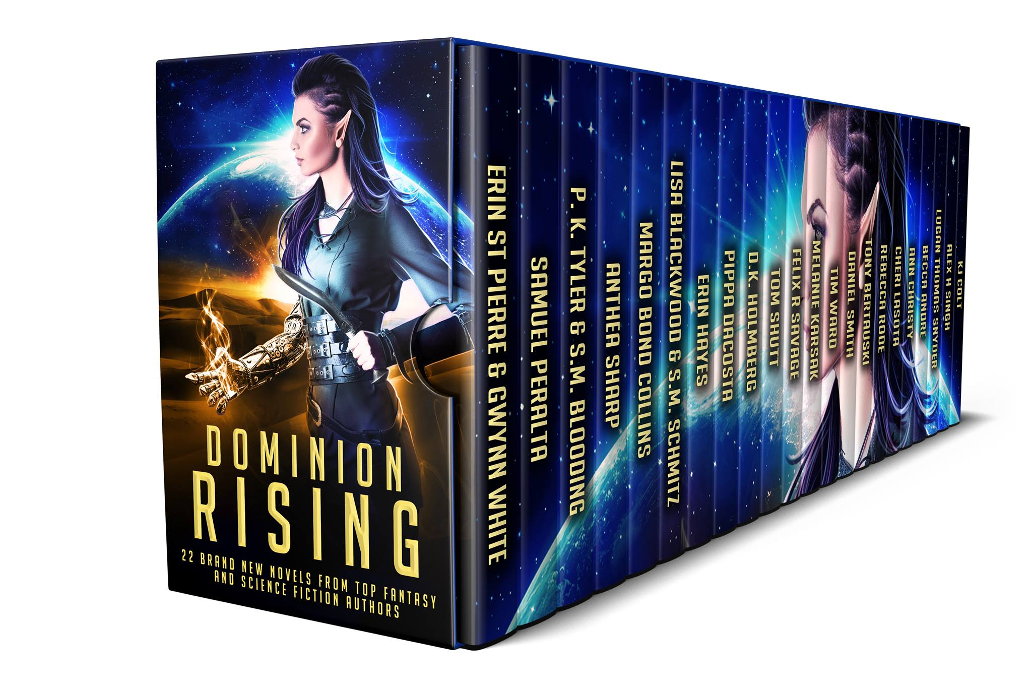Whether It's Alien Invasion Or Dark Fairytales, Heartpounding Galactic  Adventures Or Cyberpunk Romance, Dominion Rising Will Satisfy With A  Thrilling Mix
